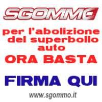 Abolizione del SUPERBOLLO  Auto in Italia!!!