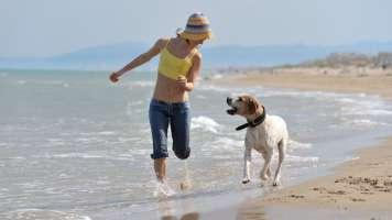 Libera il tuo cane in spiaggia a Orosei