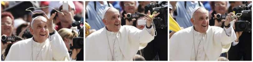 protezione assoluta 24 h 24 per il nostro papa francesco.