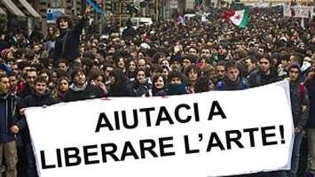 AIUTACI A LIBERARE L'ARTE IN ITALIA!