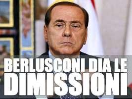 Dimissioni di Berlusconi dopo Condanna