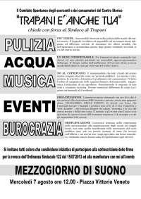 ANNULLAMENTO O.S. Comune di Trapani n. 122 del 15/07/2013