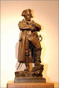 Una statua di Napoleone all'Elba!
