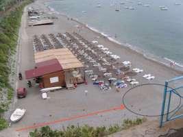 Spiaggia libera a capo Skino di Gioiosa Marea