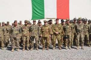 Rientro di tutti i contingenti Italiani di pace nel mondo.