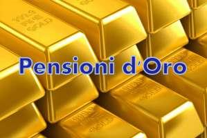 Petizione contro le pensioni d'oro