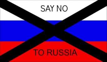 NON VOGLIAMO I RUSSI RAZZISTI NEL NOSTRO PAESE
