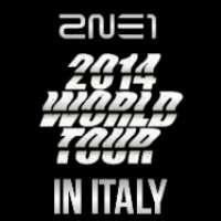 ITALY WANTS '2NE1 2014 WORLD TOUR'.