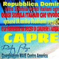 No alla chiusura dell'Ambasciata d'Italia a Santo Domingo
