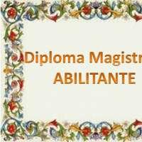 Diploma magistrale abilitante