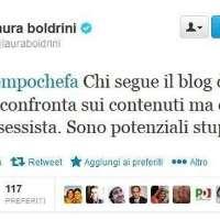 Vogliamo le dimissioni immediate dell'Om Laura Boldrini