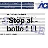 Stop al Bollo di proprietà