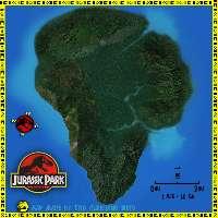 Isola dei Famosi a Isla Nublar