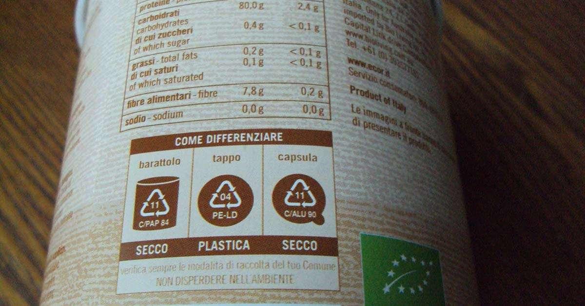 Obbligo di confezioni completamente riciclabili !!
