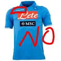 No macron sponsor Napoli.Un grande club un grande sponsor