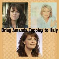 Bring Amanda Tapping to Italy, please!
