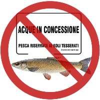 Aboliamo le concessioni delle acque per la pesca sportiva