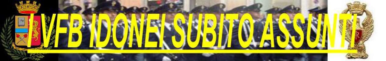 I VFB idonei della Polizia di stato subito assunti