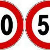 Riduzione del limite di velocità Via Salaria Settebagni