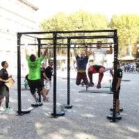 Nuove attrezzature esercizi corpo libero S.Giorgio di P.