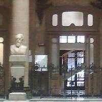Via busti di Cialdini e Cavour dalla Borsa di Napoli