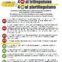SGST-Fenalt: Sì al plurilinguismo, No al Trilinguismo