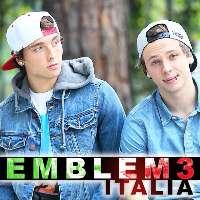 EMBLEM3 IN ITALIA