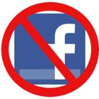 Protesta contro Facebook e gli