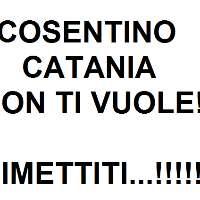 Cosentino via da Catania!