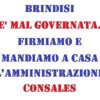 BRINDISI E' MAL GOVERNATA - SINDACO E GIUNTA SI DIMETTANO
