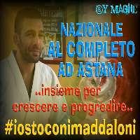 NAZIONALE ITALIANA DI JUDO AL COMPLETO AD ASTANA