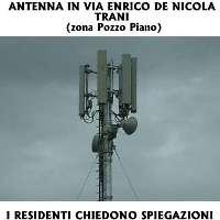 ANTENNA IN VIA ENRICO DE NICOLA (zona Pozzopiano - TRANI)