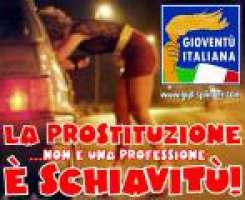 La prostituzione è schiavitù!
