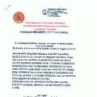 MOVIMENTO ITALIANO DISABILI CONTRO I TAGLI ALLA  SANITA'