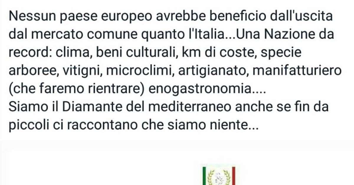 EXIT, petizione per l'uscita dell'Italia dalla EU