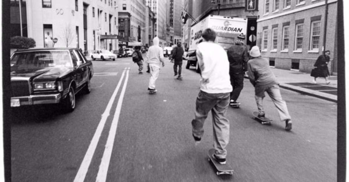 Vogliamo che gli skateboard possano circolare in strada