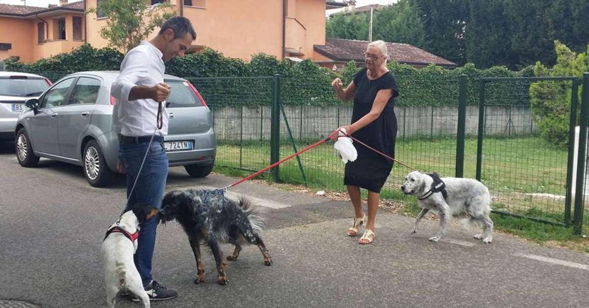 PETIZIONE POPOLARE AFFINCHE'  L'AREA DI SGAMBAMENTO CANI