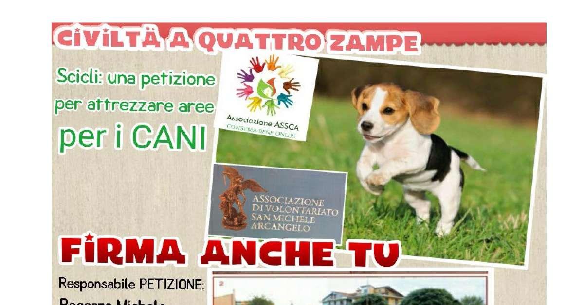 CIVILTA' A QUATTRO ZAMPE (Aree attrezzate per i cani)
