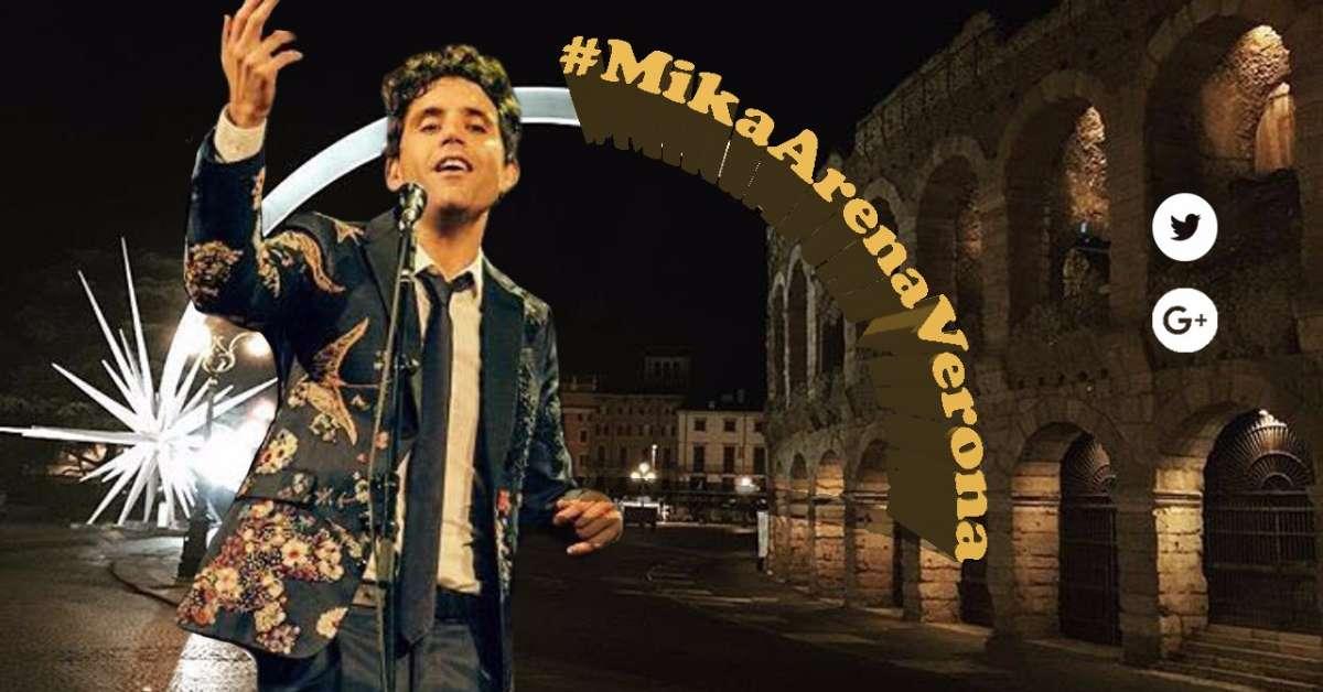 Concerto di MIKA all'Arena di Verona