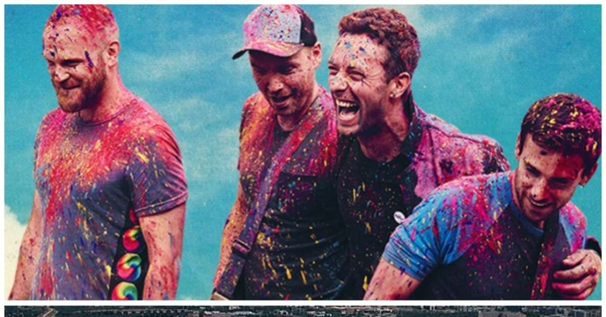 COLDPLAY in concerto a BARI - Stadio San Nicola