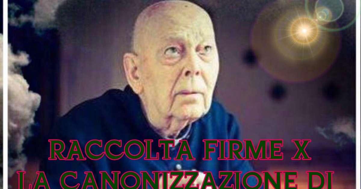 Raccolta Firme Canonizzazione Padre Amorth
