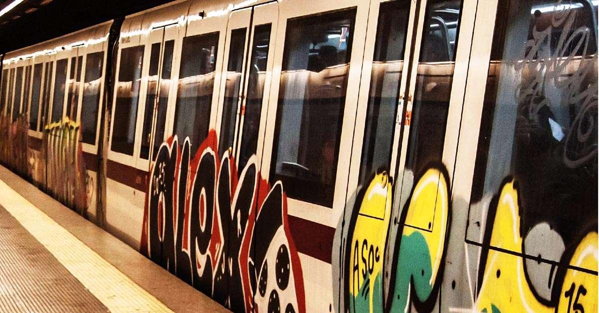 Pestaggi in metropolitana a Roma: non ne possiamo più!!!