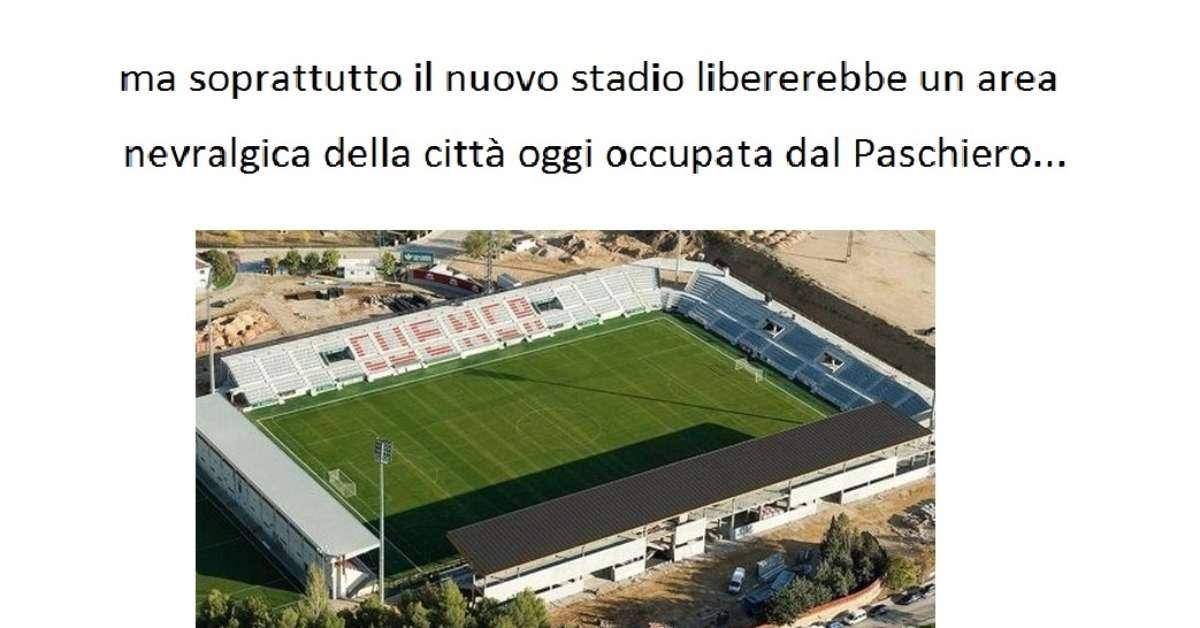 Nuovo stadio di calcio a Cuneo