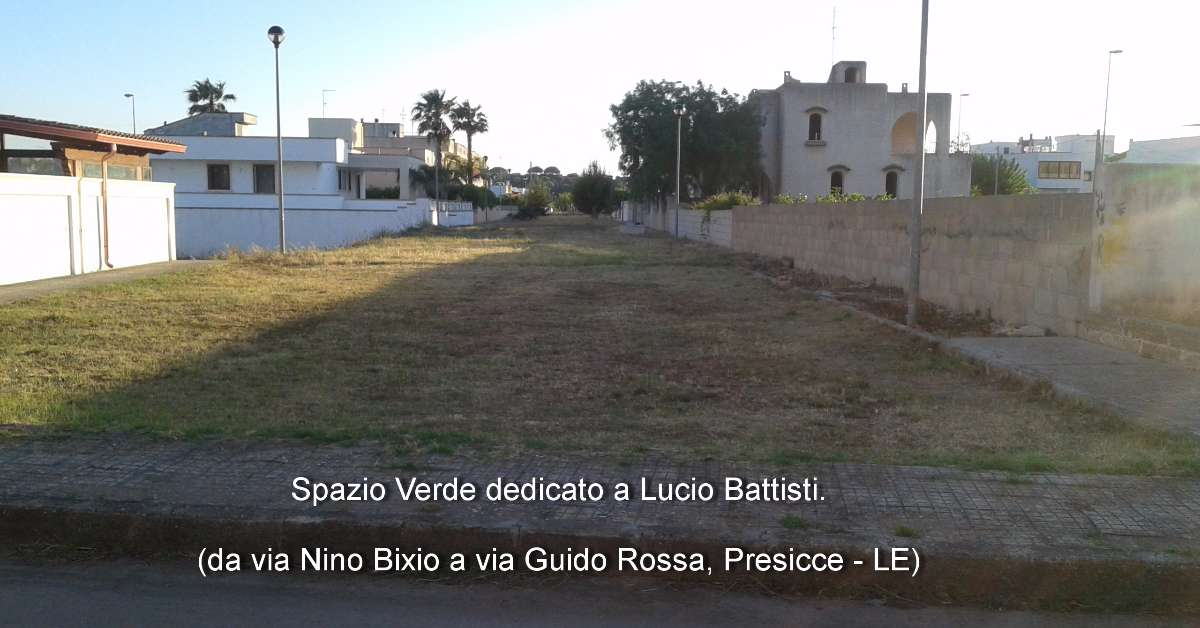 Uno SPAZIO LIBERO per Lucio Battisti.