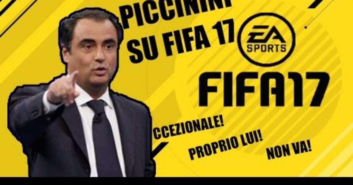 SANDRO PICCININI SU FIFA 18!!!!(SCUSA PARDO)