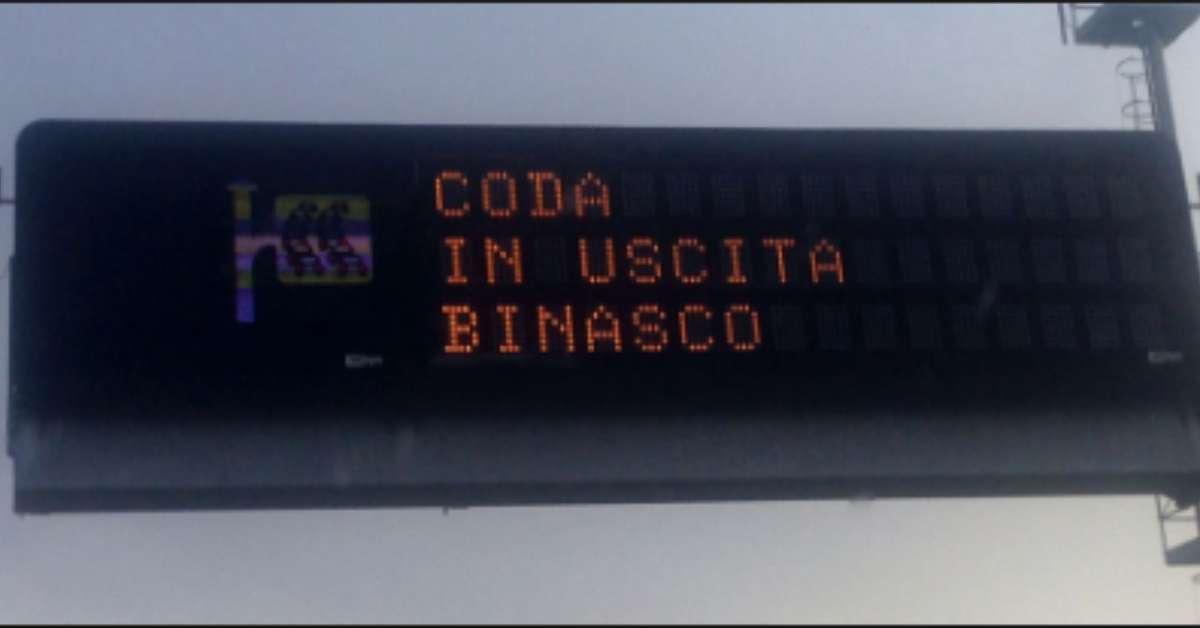 Modifica viabilità uscita Binasco Autostrada A7