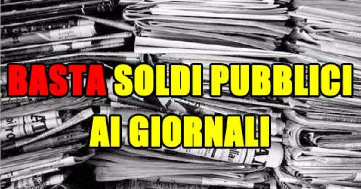 finaziamento pubblico per editoria