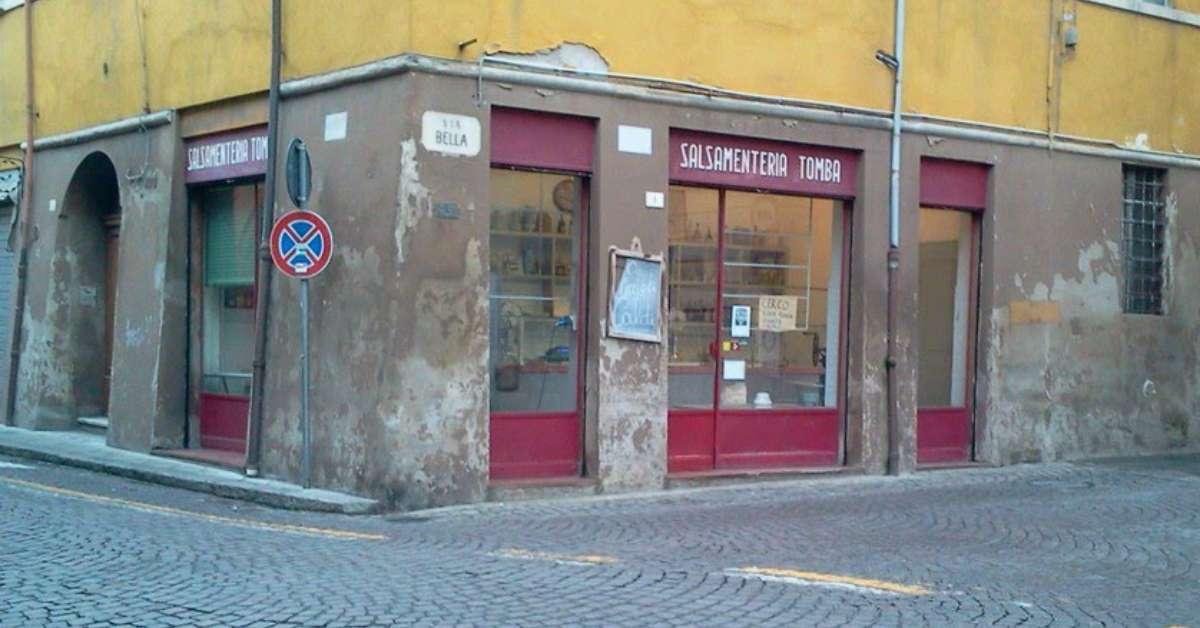 Appello a Forlì: salvaguardiamo la Salsamenteria Tomba!