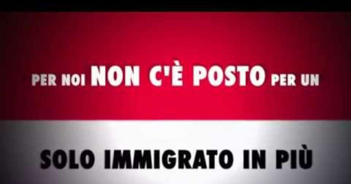STOP ALL INVASIONE , BASTA IMMIGRATI
