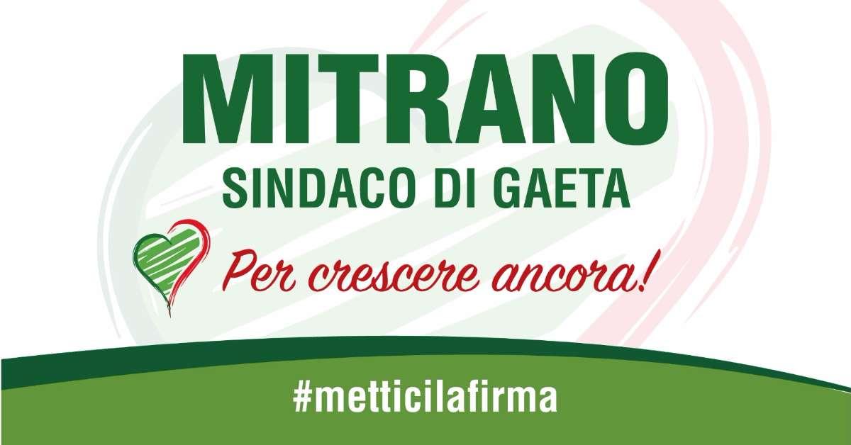 Sostieni Mitrano Sindaco di Gaeta #metticiunafirma